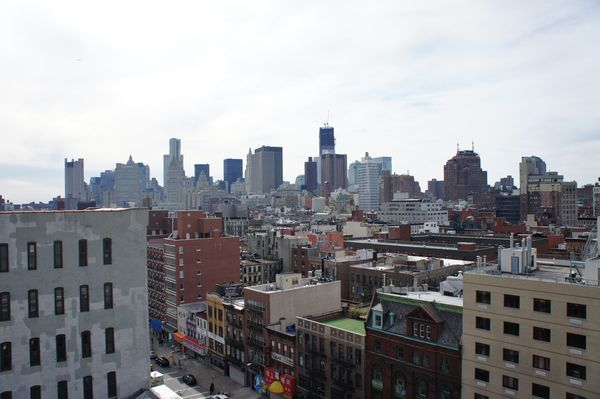 roof views of new york city that long yellow line. Black Bedroom Furniture Sets. Home Design Ideas
