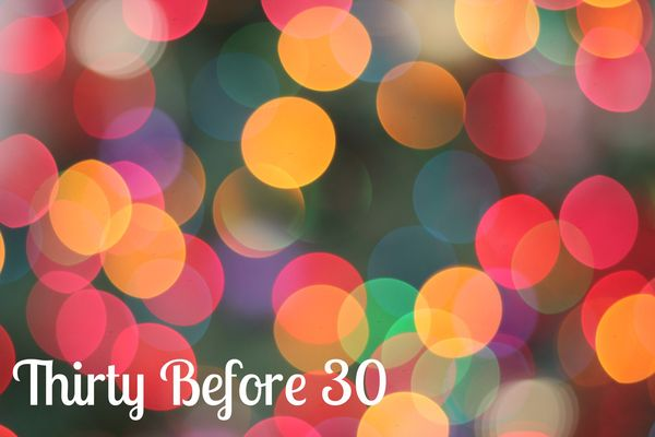 Thirtybefore30